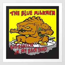 Sihfits - The Blue Milkmen Art Print