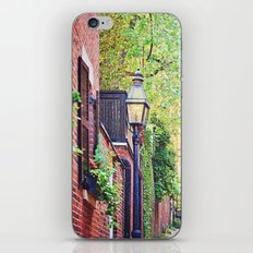 Historic Acorn Street, Beacon Hill iPhone & iPod Skin