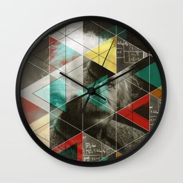 Albert E. Wall Clock