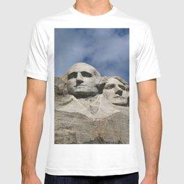 George Washington And Thomas Jefferson  - Mount Rushmore T-shirt