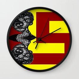 LIQUORSTORE DOUBLEHEAD LOGO 2013 Wall Clock