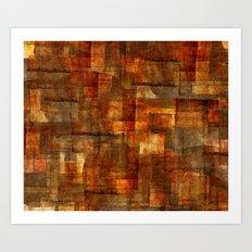 Cuts 6 Art Print