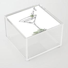 Olive Acrylic Box