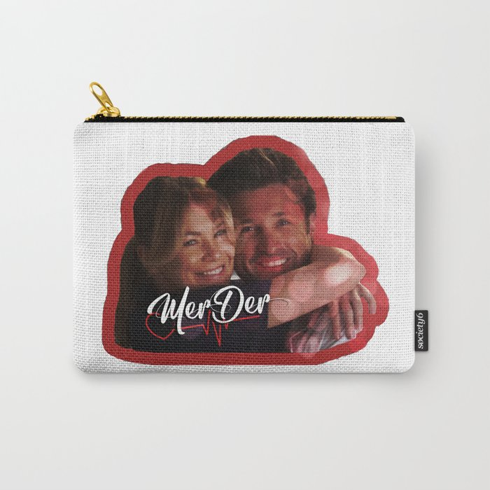 MerDer Grey's Anatomy Meredith & Derek Ship Carry-All Pouch
