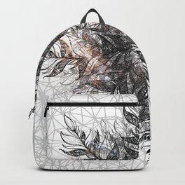 cosmic feather mandala 02 Backpack