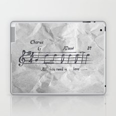 all you need is love! Laptop & iPad Skin