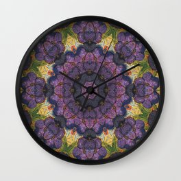 Violet Expansive Wall Clock