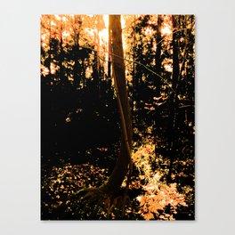 Trees like making love Canvas Print