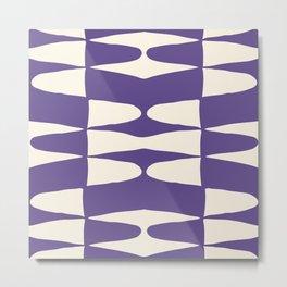 Zaha Ultra Violet Metal Print