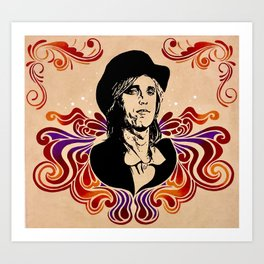 A Higher Place: Tom Petty Tribute Art Print