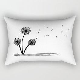 Dandilion wind Rectangular Pillow