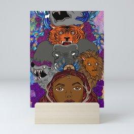 'Savages' Mini Art Print