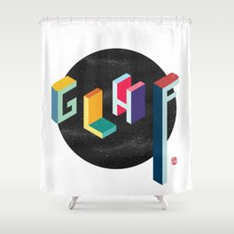 GLHF (Good Luck Have Fun!) Shower Curtain