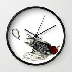 Love Bird Broken Wall Clock