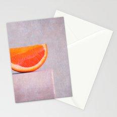 summer in orange Stationery Cards