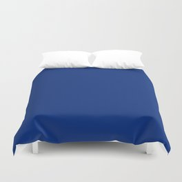 Catalina Blue - solid color Duvet Cover