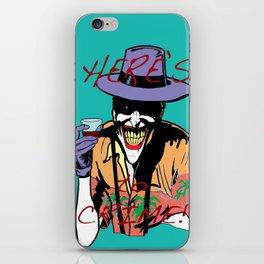 killing joker quote iPhone Skin