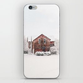The Winter House iPhone Skin