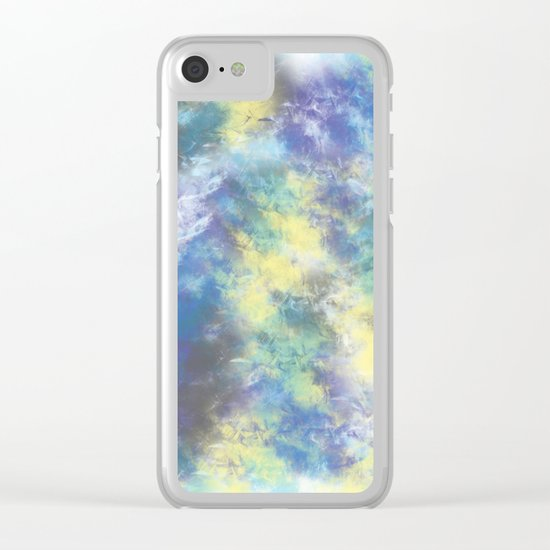 Abstract 3 Clear iPhone Case