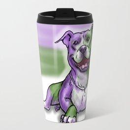 Gay Pride Pups Travel Mug