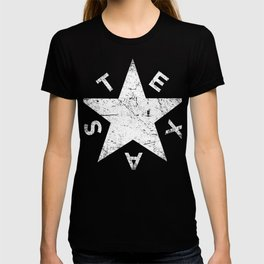 Retro Distressed TEXAS Lavaca Star T-shirt