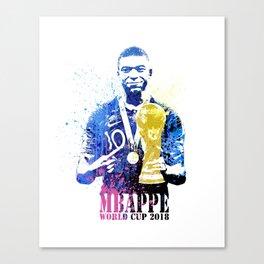 France world cup 2018 m06 Canvas Print