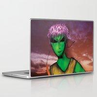 rio de janeiro Laptop & iPad Skins featuring RIO DE JANEIRO by Alien Style