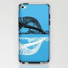 sydney in blue iPhone & iPod Skin