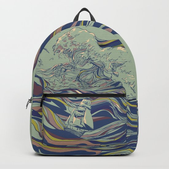OCEAN AND LOVE Backpack