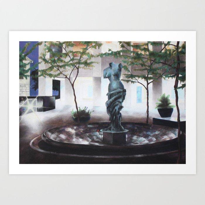 Cincinnati Venus Art Print
