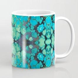 Blue Turquoise Gemstone Art Coffee Mug