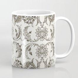 Faded Rose Garden Vintage Retro Coffee Mug
