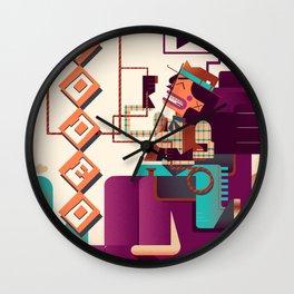 RODEO Wall Clock
