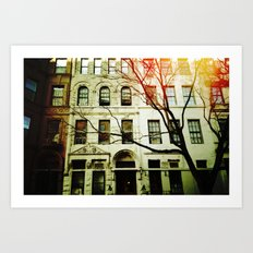 'UPPER WEST SIDE' Art Print