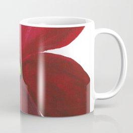 Poppy Floral Print - Original Art - Flower Print Coffee Mug
