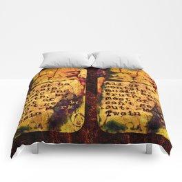 Twain Times Comforters