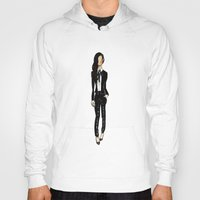 kardashian Hoodies featuring Kourtney Kardashian by Jack Hale