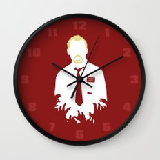 You've Got Red On You Wall Clock