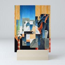"Juan Gris ""Still Life With Violin and Guitar"" Mini Art Print"