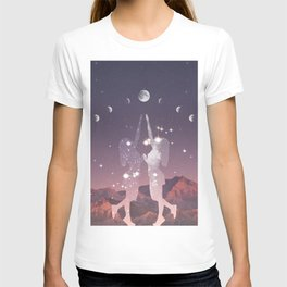 REACHING FOR THE MOON T-shirt