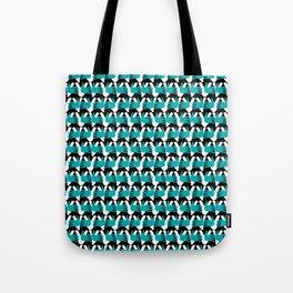 a 2 manos-blue Tote Bag