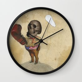 The Fighter Wall Clock
