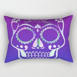 Love Skull (violette gradient) Rectangular Pillow