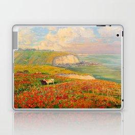 Václav Radimský (1867-1946) Normandy coast in bloom Impressionist Landscape Painting Bright Colors Laptop & iPad Skin