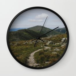 Summer in the White Mountains Wall Clock