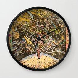 Les Fantomes du Passe Determinent les Fruit de la Tarte 2 Wall Clock