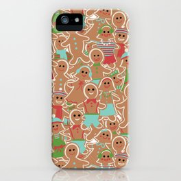 Gingerbread Delight iPhone Case
