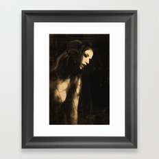 The devil in me Framed Art Print