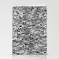 fringe Stationery Cards featuring Pysch Fringe by jordantheplatt