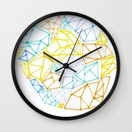 Diamond Smarties Wall Clock